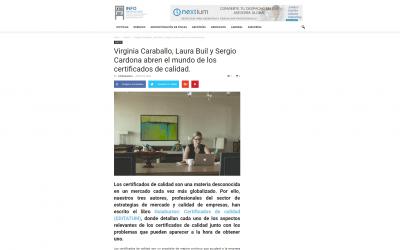 Virginia Caraballo, Laura Buil y Sergio Cardona en Infodespachos