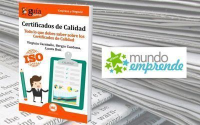 El «GuíaBurros: Certificados de calidad» en la web de Mundo Emprende